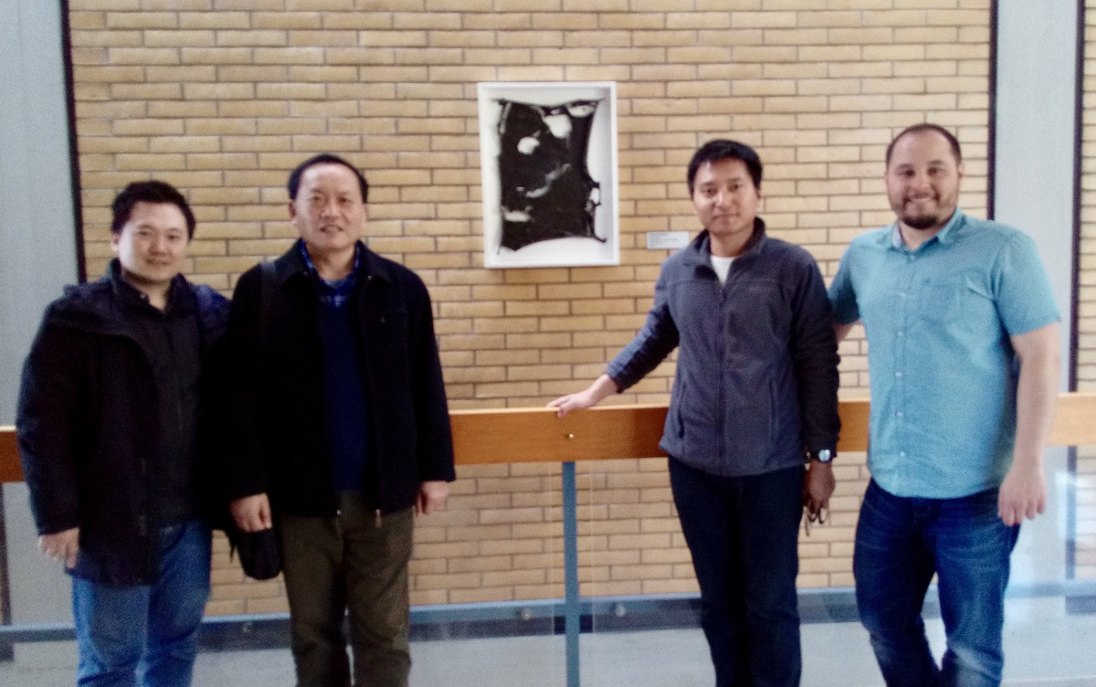 Besuch der China University of Petroleum, Beijing